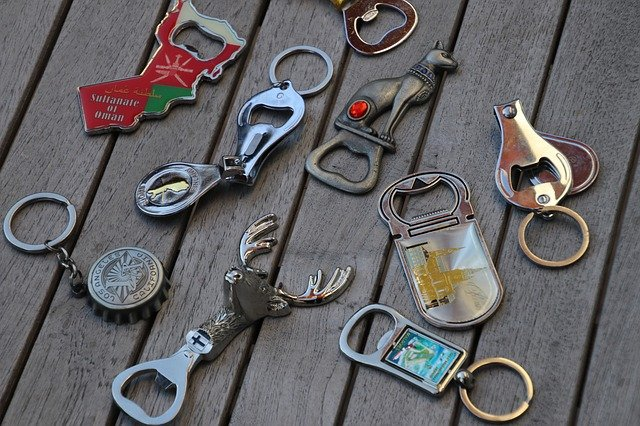 Numerous different bottle openers