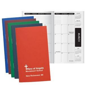 Academic Monthly Pocket Planner