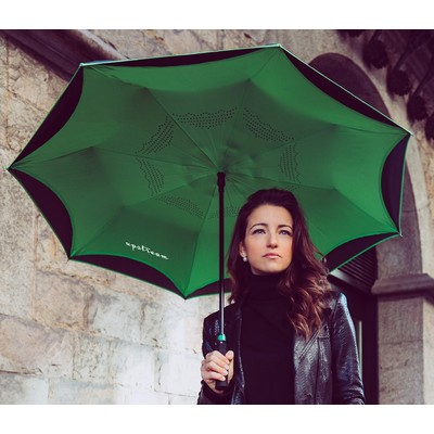 The Inversa Inverted Umbrella - Auto-Open Reverse Closing
